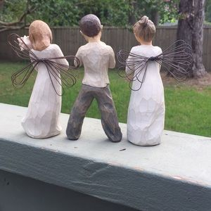 Willow Tree Accents - Angels and Boy